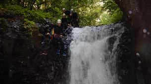 Canyoning-Le Morne-Vert-Mitan River canyon in Martinique-3