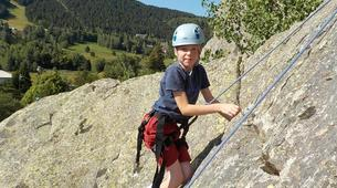 Rock climbing-Pyrénées Orientales-Cliff rock-climbing in Eastern Pyrenees-3
