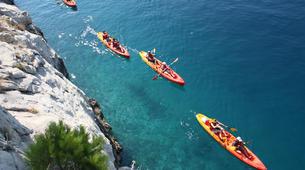 Sea Kayaking-Split-Sea kayaking and snorkelling excursion in Brela, Croatia-3
