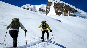 Ski de randonnée-Ariege-Sorties Ski de Randonnée dans les Pyrénées Orientales-1