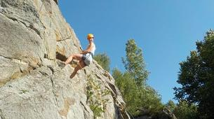 Rock climbing-Pyrénées Orientales-Cliff rock-climbing in Eastern Pyrenees-6