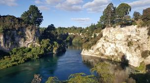 Bungee Jumping-Taupo-Cliffhanger swing in Taupo-2