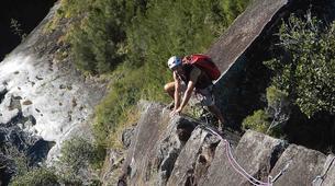 Rock climbing-Cirque de Cilaos-Full day ridge climbing in Reunion Island-1
