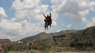 Paragliding-Sierra Nevada-Tandem paragliding flight in Sierra Nevada, Granada-5