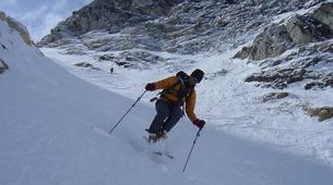 Backcountry Skiing-Briançon, Serre-Chevalier-Backcountry skiing safari around Briançon-5