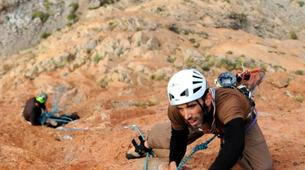 Rock climbing-Calanques-Multi pitch rock climbing course in the Calanques, Marseille-6