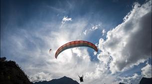 Paragliding-Sierra Nevada-Tandem paragliding flight in Sierra Nevada, Granada-2