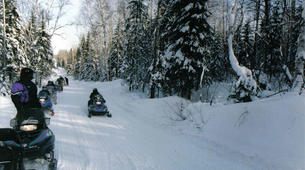 Snowmobiling-Auron-Snowmobile excursions in Auron-2