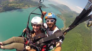 Paragliding-Annecy-Tandem paragliding flight in Annecy-1