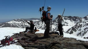 Backcountry Skiing-Sierra Nevada-Backcountry skiing day trip in Sierra Nevada near Granada-4