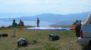 Paragliding-Arachova-Tandem paragliding flight in Arachova, Greece-8