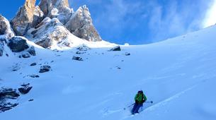 Backcountry Skiing-Briançon, Serre-Chevalier-Backcountry skiing safari around Briançon-3