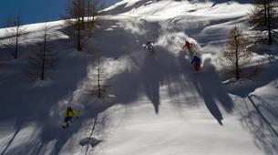 Backcountry Skiing-La Grave-Family friendly freeriding tour in La Grave-13
