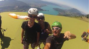 Paragliding-Annecy-Tandem paragliding flight in Annecy-5