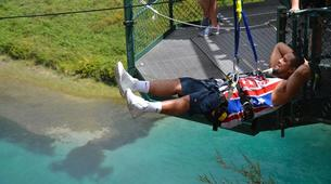 Bungee Jumping-Taupo-Cliffhanger swing in Taupo-5