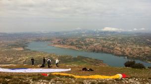 Paragliding-Sierra Nevada-Tandem paragliding flight in Sierra Nevada, Granada-3