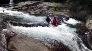 Canyoning-Langevin River, Saint-Joseph-Canyon of River Langevin in La Reunion-4