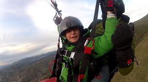 Paragliding-Sierra Nevada-Tandem paragliding flight in Sierra Nevada, Granada-4