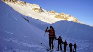 Ski touring-Font Romeu-Guillaume Bernole, Ski Touring Guidein Font Romeu, Pyrenees-5