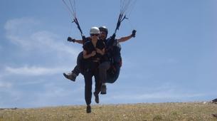 Paragliding-Sierra Nevada-Tandem paragliding flight in Sierra Nevada, Granada-1