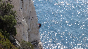 Rock climbing-Calanques-Multi pitch rock climbing course in the Calanques, Marseille-4