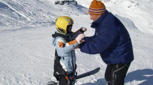 Paragliding-Val Thorens, Les Trois Vallées-Winter tandem paragliding in Val Thorens-5