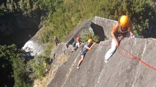 Rock climbing-Cirque de Cilaos-Full day ridge climbing in Reunion Island-2