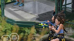 Bungee Jumping-Taupo-Cliffhanger swing in Taupo-1