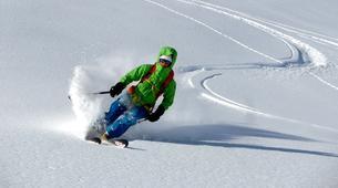 Ski Hors-piste-Monetier, Serre-Chevalier-Journée Ski Hors-pistes à Serre Chevalier-1