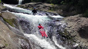 Canyoning-Langevin River, Saint-Joseph-Canyon of River Langevin in La Reunion-1