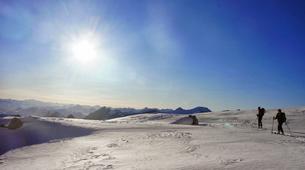 Ski touring-Font Romeu-Guillaume Bernole, Ski Touring Guidein Font Romeu, Pyrenees-3