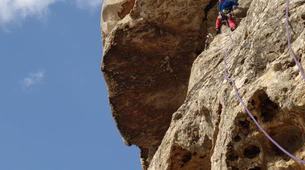 Rock climbing-Calanques-Multi pitch rock climbing course in the Calanques, Marseille-3