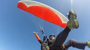 Paragliding-Sierra Nevada-Tandem paragliding flight in Sierra Nevada, Granada-6