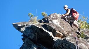 Rock climbing-Cirque de Cilaos-Full day ridge climbing in Reunion Island-3