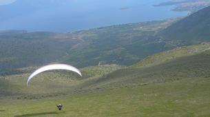 Paragliding-Delphi-Tandem paragliding flight in Delphi, Greece-2