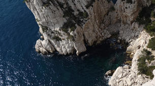 Rock climbing-Calanques-Multi pitch rock climbing course in the Calanques, Marseille-5