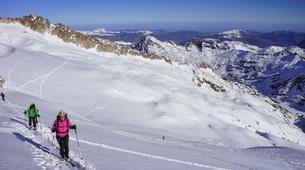 Ski touring-Font Romeu-Guillaume Bernole, Ski Touring Guidein Font Romeu, Pyrenees-6