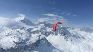 Paragliding-Tignes, Espace Killy-Formation au Parapente Hiver à Tignes-1