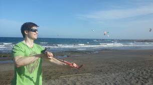 Kitesurfing-Costa Adeje, Tenerife-Private kitesurfing courses in El Médano from Costa Adeje-4