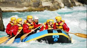 Rafting-Queenstown-Half day rafting excursion down Kawarau River-7