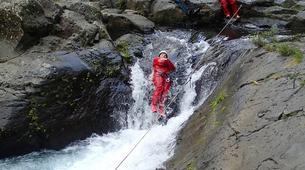 Canyoning-Langevin River, Saint-Joseph-Family friendly canyon Langevin in Reunion Island-1