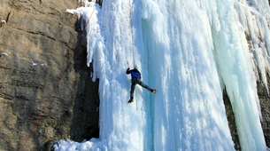 Cascade de Glace-Gressoney-Ice climbing in Gressoney-1