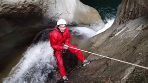 Canyoning-Cirque de Salazie, Hell-Bourg-Canyon Trou Blanc in Reunion Island-3