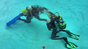 Scuba Diving-Pico-PADI Bubblemaker course for children on Pico Island-2