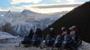 Snowmobiling-Les Carroz, Le Grand Massif-Snowmobile excursions in Les Carroz d'Arâches, Grand Massif-2