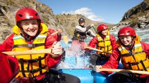 Rafting-Queenstown-Half day rafting excursion down Kawarau River-4