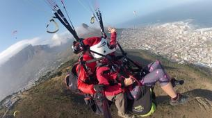 Paragliding-Cape Town-Tandem paragliding flight from Signal Hill in Cape Town-1