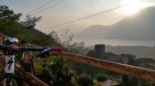 "Mountain bike-Lake Como-Mountain biking excursion ""Mount Legnoncino"" around Lake Como-1"