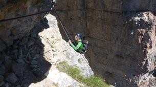 Escalade-Ponte di Legno-Guided rock climbing in Ponte di Legno in the Italian Alps-3