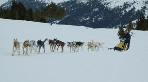 Dog sledding-Andorra-Mushing excursion in Grau Roig-3